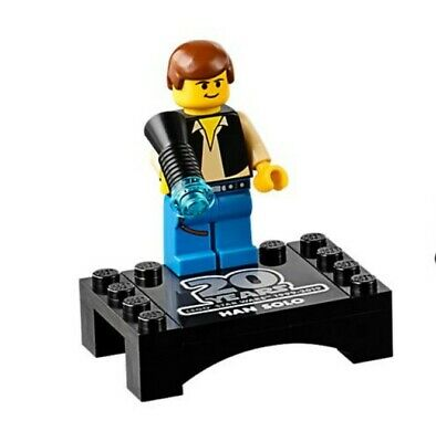 NEW HAN SOLO 20th Anniversary LEGO Star Wars MINIFIG minifigure only 75262