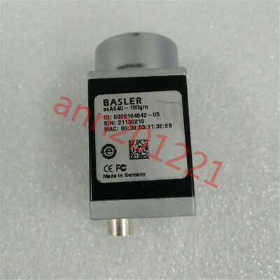 1PC  Used  BASLER acA640-100gm black and white CCD