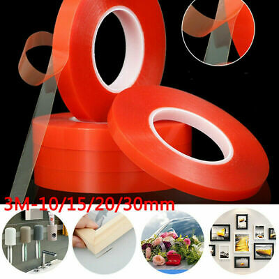Strong Double-side Clear Acrylic Foam Adhesive Nano Tape Washable Magic Gel Roll