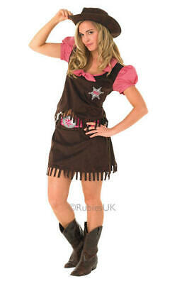 LADIES COUNTRY COWGIRL Costume Dolly Parton Fancy Dress ...