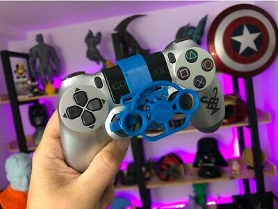 Mini volante intercambiable para mando playstation PS4 pro fat o slim en 3d
