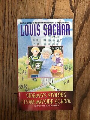 Sideways Stories from Wayside School by Louis Sachar, Paperback, Great Condition