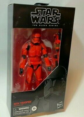 STAR WARS BLACK Series RED SITH TROOPER 6in Figure Rise of Skywalker IN STOCK