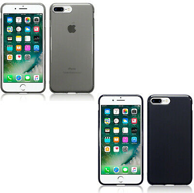 Silicone Slim TPU Gel Back Protector Case Cover For Apple iPhone 7 Plus 8 Plus