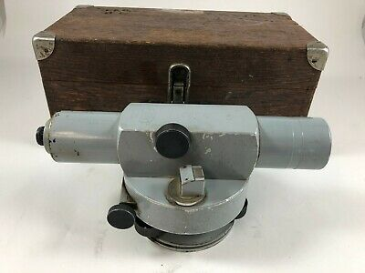 ZEISS Ni2  Automatic level  32 power  very early design  some brass