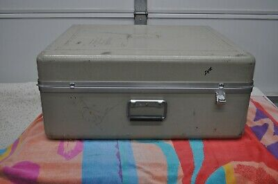 "Fiberglass Shipping/Carry Case 27 1/2"" x 23 1/2"" x 12 1/2"" (ID) Good Condition"