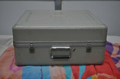 "Fiberglass Shipping/Carry Case 22 1/2"" x 20 1/2"" x 10"" (ID) Good Condition"