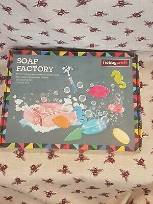 Hobbycraft Soap Factory Set **Brand New And Factory Sealed**