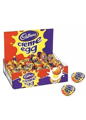 Cadbury Creme Egg (Box of 47 Eggs)(Fast Delivery)