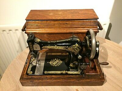 1912 Antique/Vintage Singer 28K HandCrank Sewing Machine with case