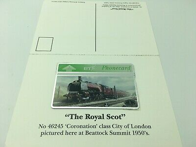 Express Steam Collection Roryal Scot Railway Phonecard Booklet
