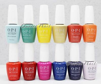 OPI Soak-Off GelColor MEXICO CITY Collection 2020 Spring Summer @PICK Any 15mL
