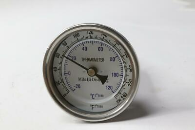 "Brew Thermometer A300C X 2.5"" 0/250Fc"