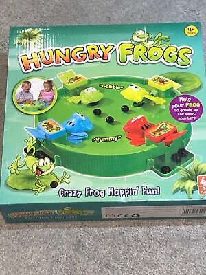 Childrens Family Hungry Frogs Marble Grab Game Like Hungry Hippos Frog 4+