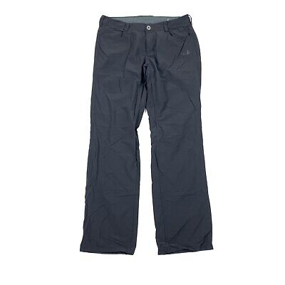 THE NORTH FACE Womens Size 8 Black Hiking Outdoor Pants Nylon Bootcut Button Zip