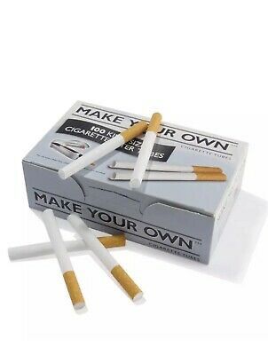 2000 Make Your Own By Rizla Cigarette King Size Filter Tubes-New-Fast Delivery