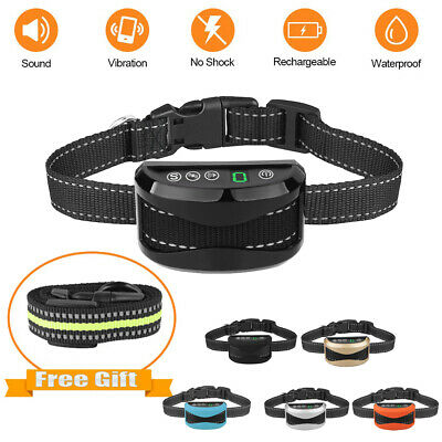 Rechargeable Anti Bark No Shock Dog Stop Barking Training Collars Auto Trainer