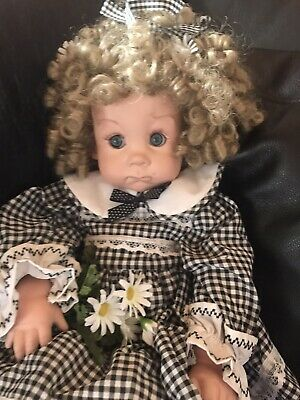 Beautiful Collector Heavy Quality porcelain doll