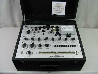 Hickok 752A Mutual Conductance Tube Tester - Calibrated - Specs Near Perfect *.*
