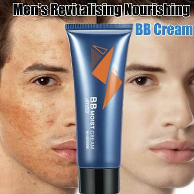 Mens Revitalising Nourishing Tone Up Moist BB Cream Lazy Concealer Handsome 50g-