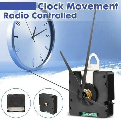 Radio Controlled DCF Quartz Clock Movement Mechanism Repair Kits With 3 Pointer