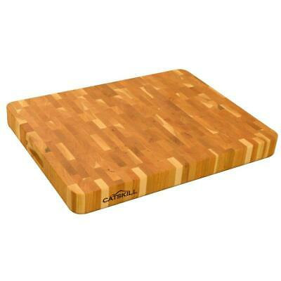 Catskill Craftsmen Cutting Board Hardwood 2 in. Thick End Grain Reversible