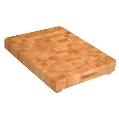 Catskill Craftsmen Cutting Board Wooden Feet Finger Slots End Grain Surface