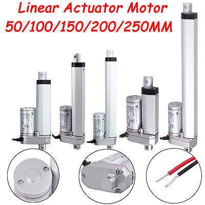 50-250MM Linear Actuator Motor For Auto Car RV Electric Door Opener 750N DC 12V