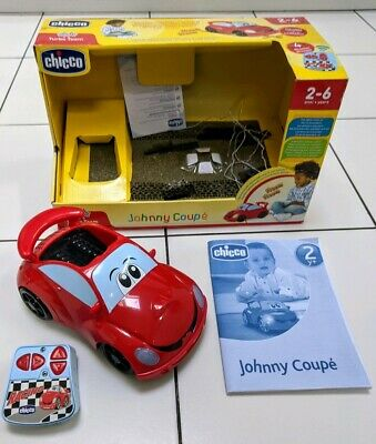 Chicco Johnny Coupe Remote Control Red Car with Lights *BOXED*