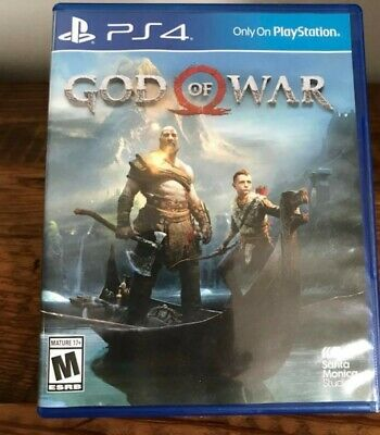God Of War jeu ps4
