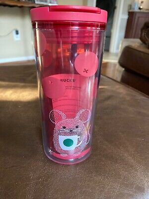 2020 STARBUCKS YEAR OF THE RAT TUMBLER NEW YEAR 12oz TARGET EXCLUSIVE RED
