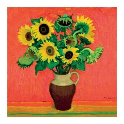 Floral Blank Greeting Card Sunflowers Any Occasion / Birthday Quality Art Card
