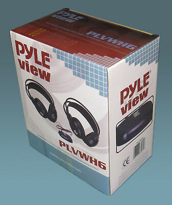 Pyle View PLVWH6 Dual Wireless IR Mobile Video Stereo Headphones