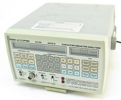 Sencore LC102 Auto-Z Capacitor Inductor Analyzer