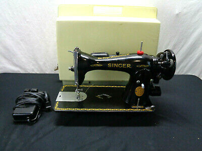 Vintage Singer Sewing Machine 1949 Serial #AJ325408 (OAS25)