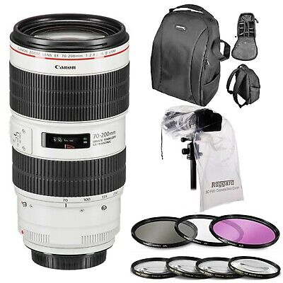 Canon EF 70-200mm f/2.8L IS III USM Lens with 77MM Filter Kit & Close-Up Filters