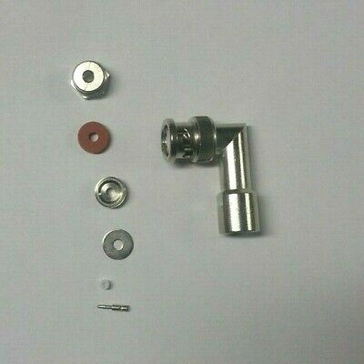 Coaxial Connector, Plug, Right Angle NSN 5935-00-498-8502