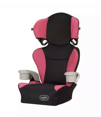 Evenflo Big Kid Sport High Back Booster Car Seat, Sequioa