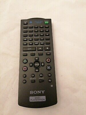 Official Sony Ps2 Dvd Remote Control Genuine Tested Working