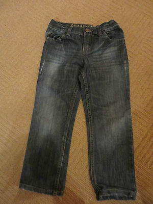 boys boy jeans age 6 years  adjustable waist straight leg exc. cond