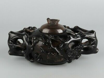 Chinese Exquisite Handmade bird crystal pot