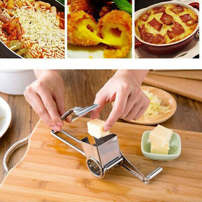 9EE9 Silver Cheese Graters Gift Hand Held Practical Ginger Cutter