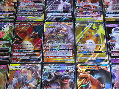 Pokemon GX Card Lot 10 Official TCG Cards   GX Ultra Rare Included 9 Other Rares