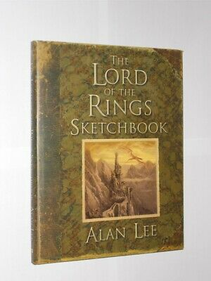 The Lord Of The Rings Sketchbook. Alan Lee HB/DJ 1st Edition 1st Printing 2005.