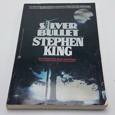 SILVER BULLET - STEPHEN KING Cycle of the Werewolf 1985 Signet Special Movie Tie