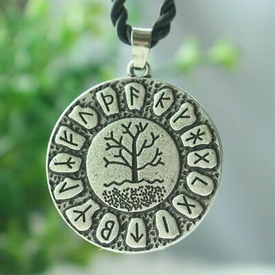 Vintage Necklace Tree Of Life women Pendant Dragon Soul Rope Chain Jewelry Gift