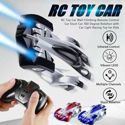 Gravity Defying RC Car Wall Climbing Remote Control Anti Ceiling Racing Toy Gift