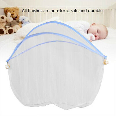 Baby Toddler Mosquito Net Crib Bassinet Bed Canopy Bug Fly Bites Protection SN