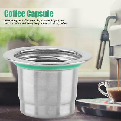 Refillable Reusable Coffee Capsules Pods Cup For Coffee Nespresso Machines