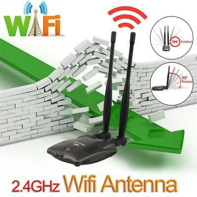 USB WiFi Wireless Network Adapter Dongle Antenna 802.11b/g/n for Mac Win Linux